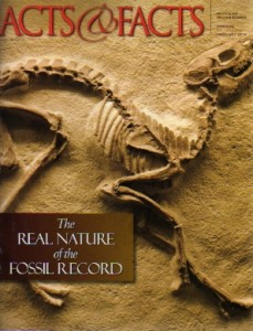 The Real Nature of the Fossil Record, Acts & Facts, Feb 2010